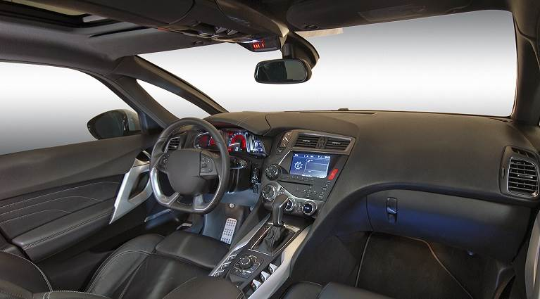 Automotive low VOC adhesive interiors.